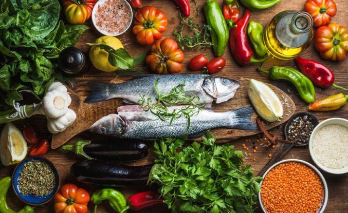 En ideal beslenme 'Akdeniz tipi'