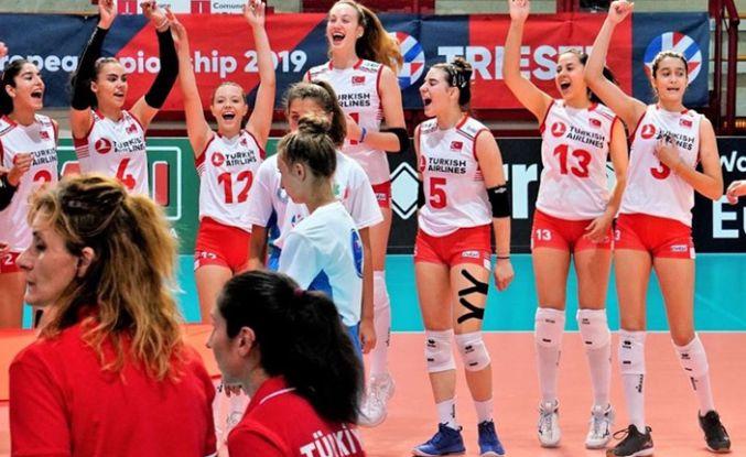 Genç voleybolcularımız Avrupa şampiyonu