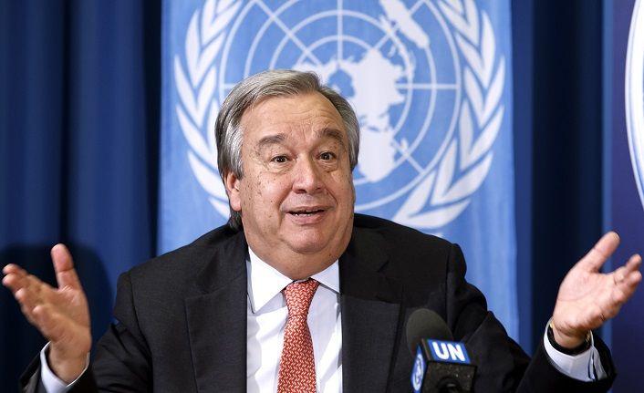 Guterres eleştirileri reddetti!