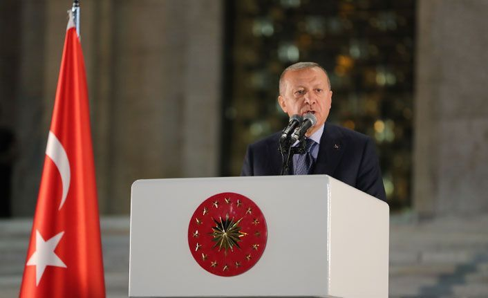 Erdoğan'dan adalet vurgusu!