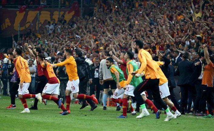 Galatasaray 22. kez şampiyon