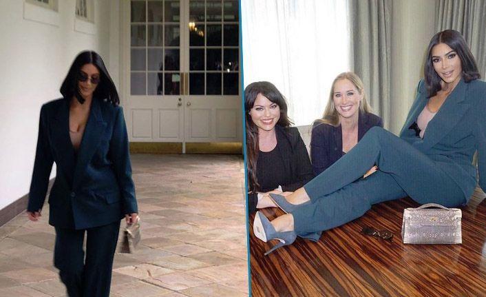 Beyaz Saray'da Kim Kardashian rüzgarı