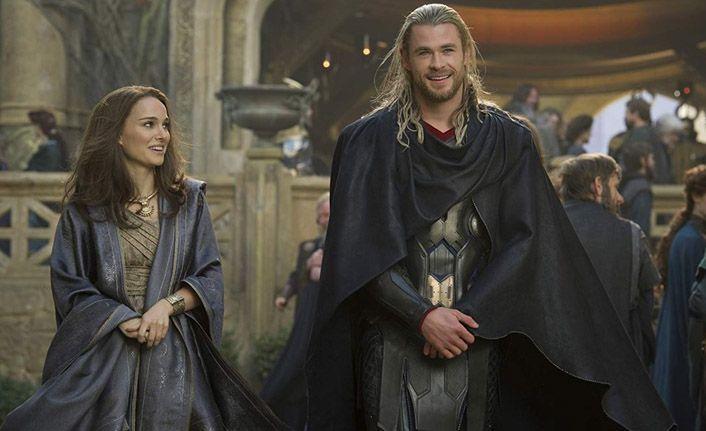 Natalie Portman, Thor için hazırlanıyor