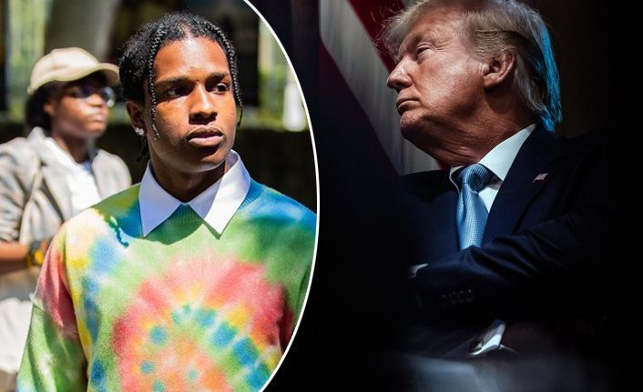 Trump, ünlü rapçiye kefil oldu