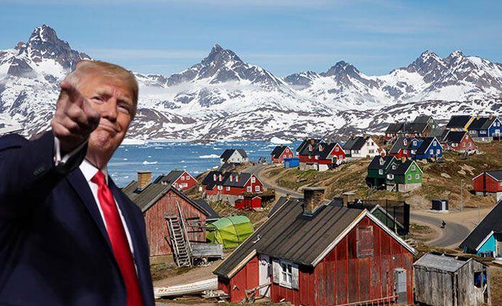Trump doğruladı! Grönland ile ilgileniyoruz