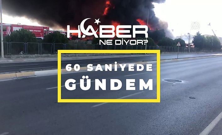 18.09.2019-60 saniye de Türkiye ve Dünya gündeminden başlıklar