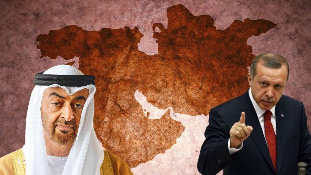 Erdoğan ile Muhammed bin Zayed