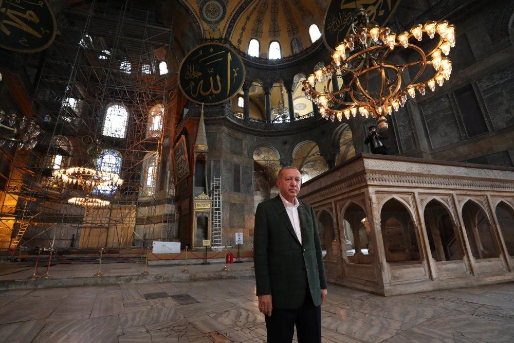 Erdoğan Ayasofya