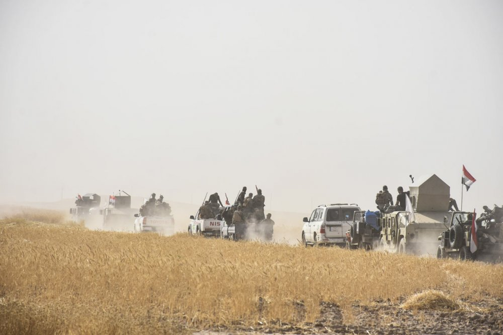 Irak Ordusu Irak askerleri DEAŞ operasyonu