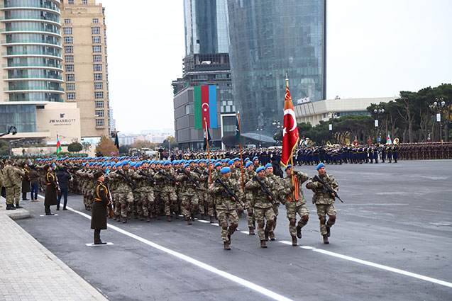 Azerbaycan'da heyecan dorukta!