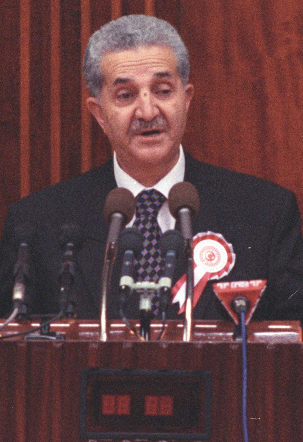 Eski Refah Partisi Genel Başkanı Ahmet Tekdal
