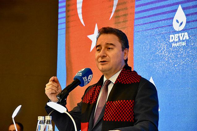 DAVE Partisi Ali Babacan il kongresi