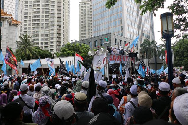 Endonezyalılardan Uygur Türklerine destek!