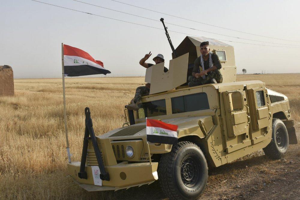 Irak askerleri DEAŞ operasyonu
