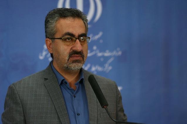 İran Sağlık Bakanlığı Sözcüsü Kiyanuş Cihanpur
