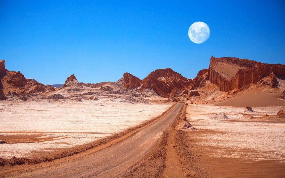 Atacama Çölü, Şili