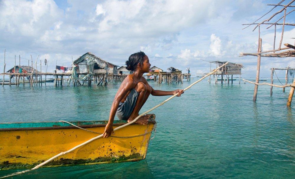 """Bajau kabilesi: suyun içinde yaşayan """"deniz çingeneleri"""""""