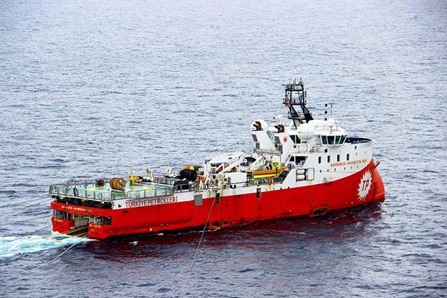 Barbaros Hayrettin Paşa sismik araştırma gemisi