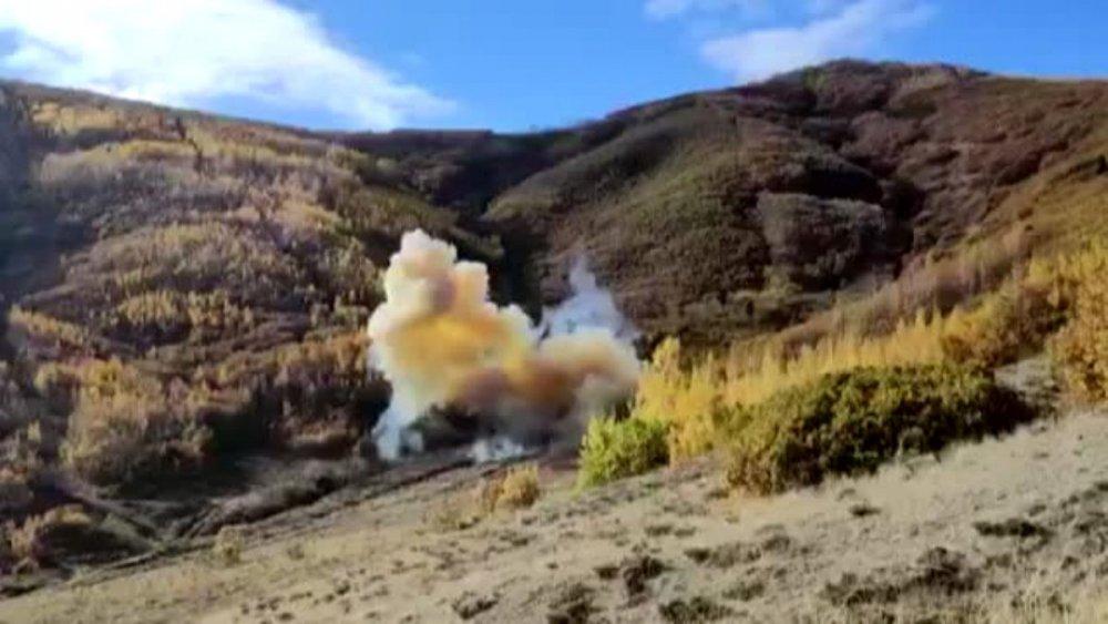 Bitlis Tatvan 100 kg patlayıcı