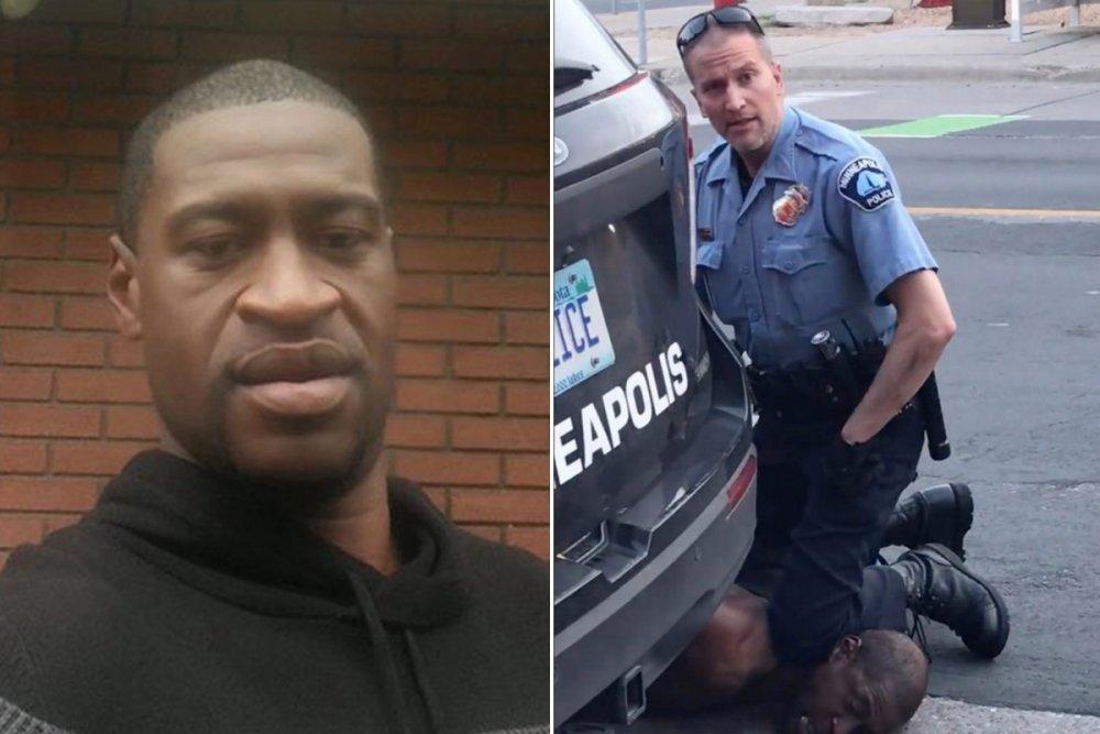 abd polisinin öldürdüğü siyahi george floyd