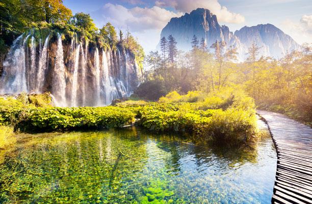 Plitvice Gölleri Ulusal Parkı, Hırvatistan