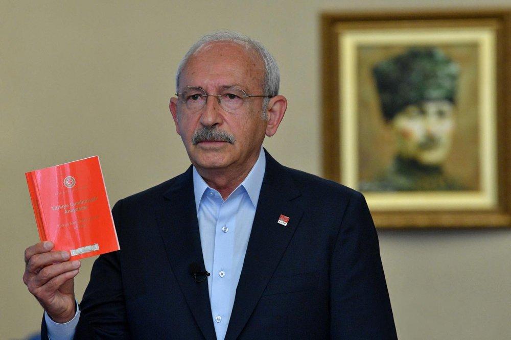 kemal kılıçdaroğlu anayasa kitapçığı