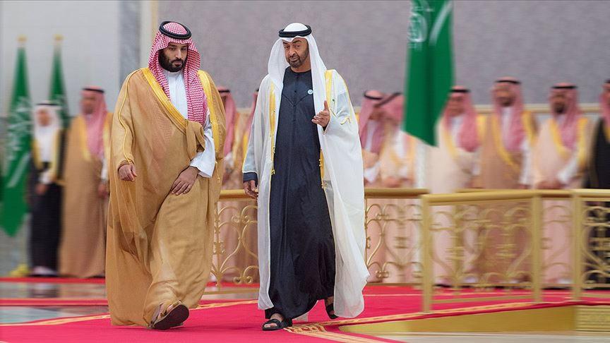 BAE ve Suudi Arabistan veliaht prensleri