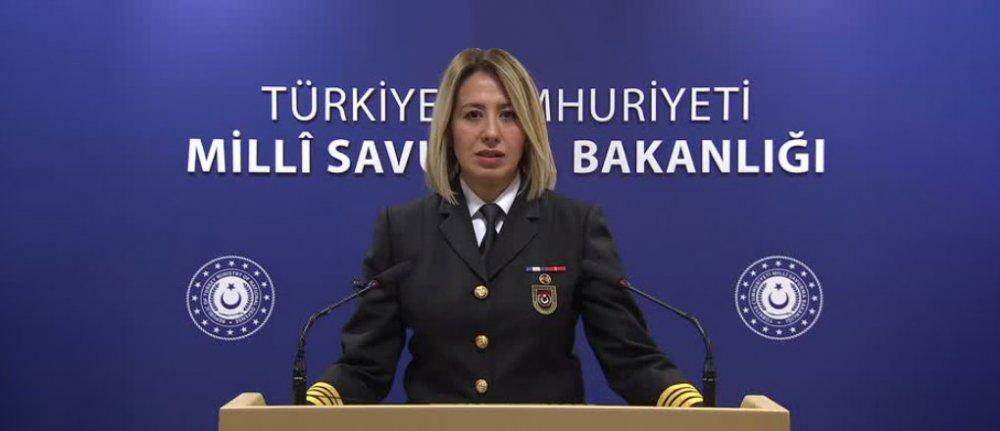 Millî Savunma Bakanlığı (MSB) Basın Halkla İlişkiler Tanıtım Subayı Deniz Yarbay Şebnem Aktop