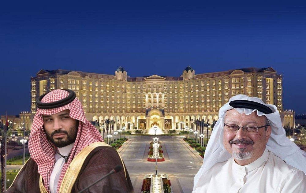 Ritz Carlton Otel Muhammed bin Selman Cemal Kaşıkçı