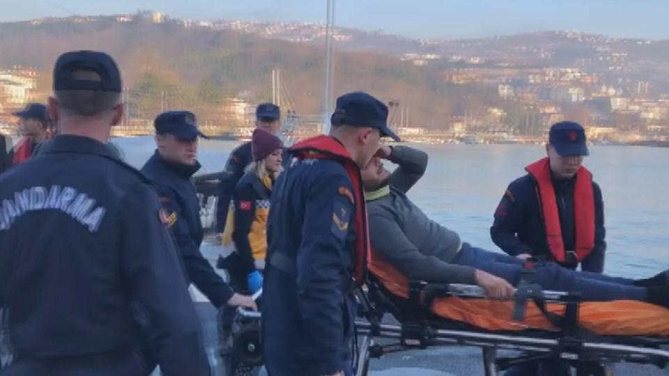 Bildergebnis für Türk tankeri Rus tankeriyle çarptıktan sonra battı