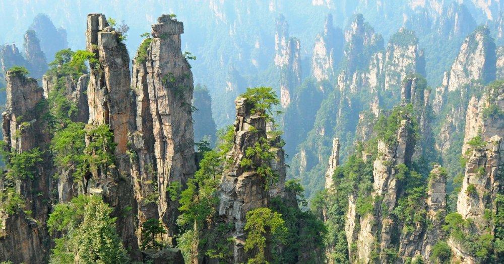 Zhangjiajie Ulusal Orman Parkı, Çin