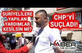 Ankaralılar Suriyelilere yapılan yardımlar hakkında ne düşünüyor?