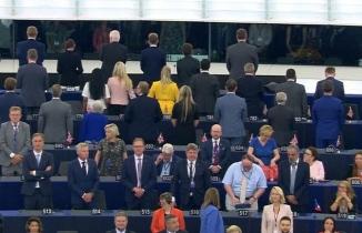 Brexitçiler Avrupa Parlamentosu'na sırtını döndü