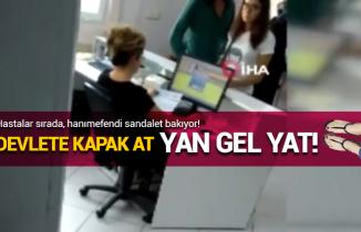 Acil serviste skandal: Hastaları bekletti internetten alışveriş yaptı!
