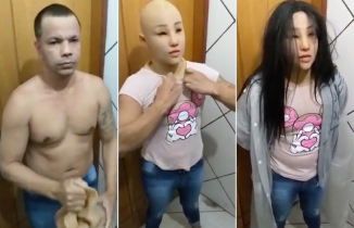 Kadın kılığında cezaevinden kaçmaya çalışan Brezilyalı çete lideri