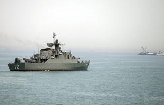 İran kovaladı, İngiliz fırkateyni kaçtı