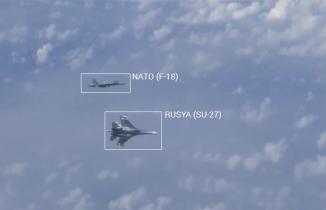 Rus ve NATO savaş uçakları karşı karşıya geldi
