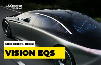 Mercedes-Benz Vision EQS, Frankfurt Motor Show'da